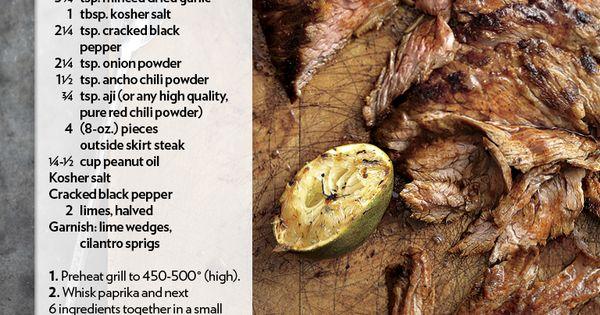 Skirt Steak   Favorite Recipes   Pinterest   Skirt Steak and Steaks
