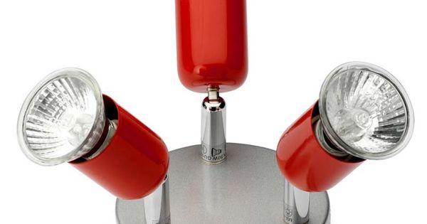 Plafonnier de 3 spots orientables s riou luminaire for Bmr luminaire interieur