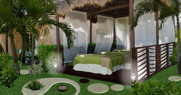 Allegro5b jardin yin yang noche jardin pinterest for Jardin yin yang
