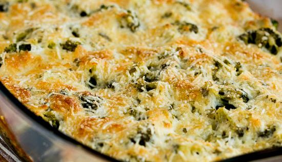 Broccoli Gratin With Swiss And Parmesan Recipe — Dishmaps