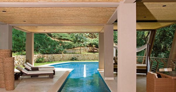 Peninsula papagayo rosort le luxe tropical for Piscina jardin secreto