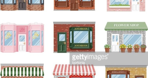 storefront clipart - Google Search | Cute Clipart and Drawings ...