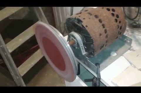 Ponceuse A Disque Stationnaire Fait Maison Home Appliances