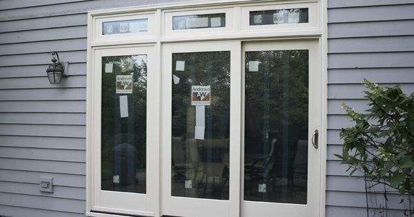 Triple Patio Door Installed By Opal Enterprises Lovely