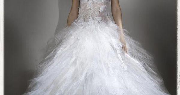 Robe de mariée Nicolas Fafiotte - Bustier lingerie en dentelle chair ...