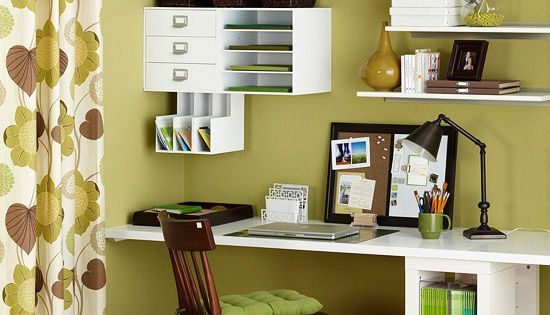 Smarter Office Storage, wall storage is great.
