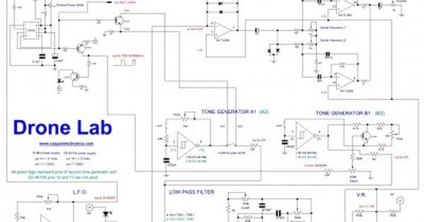 Drone Lab Electronic Engineering Diy Electronics Electronics Circuit