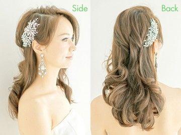 2ページ目 ブライダルヘアで世界1かわいい自分に 花嫁の結婚式のヘア