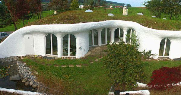 Earth house in switzerland by peter vetsch homestead for Earth house switzerland