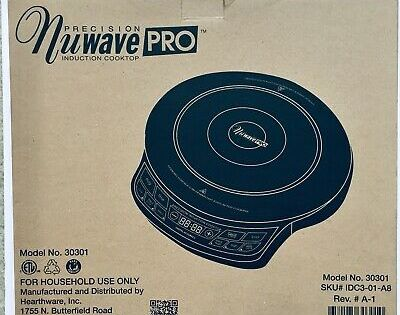 New Never Used Nuwave Pro Precision Portable Induction Cooktop 30301 Ebay Induction Cooktop Cooktop Libertyville