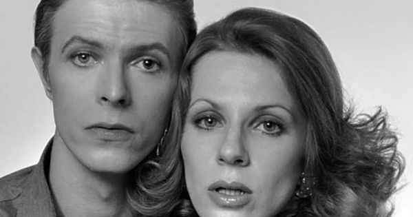 David david bowie and candy clark on pinterest