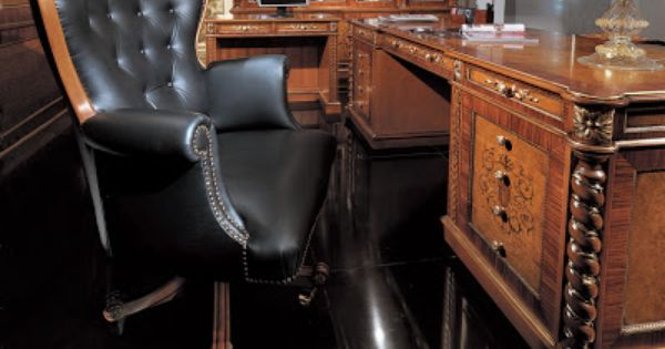Russian Leather Desk Chair Amazing Furniture Pinterest