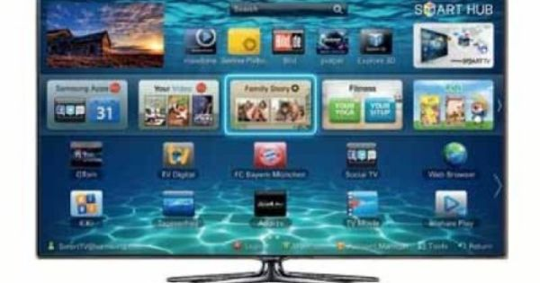 Samsung Ue40es7090 101 Cm 40 Zoll 3d Led Fernseher Samsung Smart Tv Smart Tv Led Tv