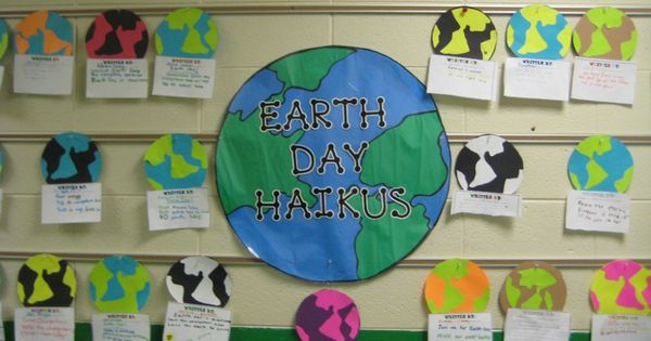 Classroom Ideas For Earth Day ~ April bulletin board ideas for teachers holiday earth