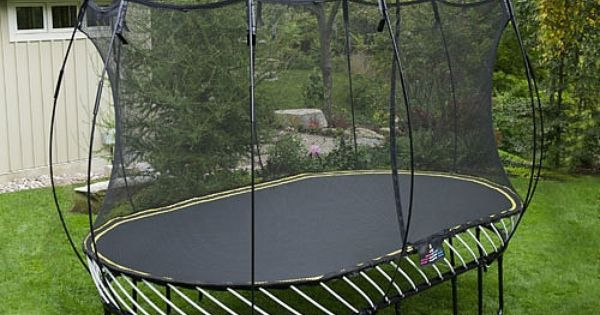 Springfree 8 X 13ft Large Oval Trampoline With Safety