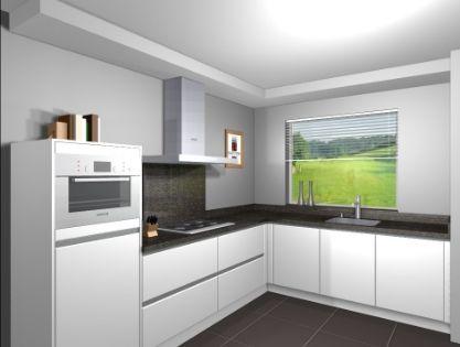 Een grote open keuken is tegenwoordig een eis die vaak terugkomt bij het bouwen van huizen wij - Keuken amenagee et equipee ...
