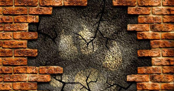Login To Read Brick Wall Drawing Android Wallpaper Black 3d Wall Art