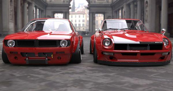 Rocket Bunny S14 and S30 Datsun Z   Datsun Z Nissan Z ...