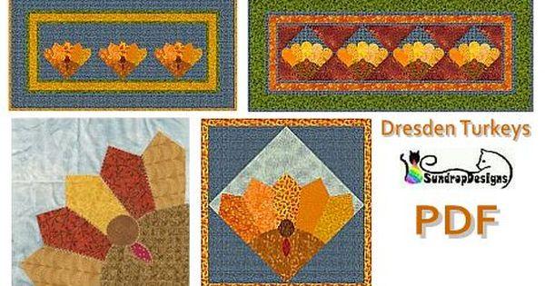 Free Dresden Turkey Tablerunner Pattern Swn Member