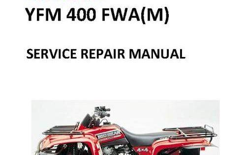2000 2004 Yamaha Big Bear Yfm400 Fwa Service Repair Manual Repair Manuals Repair Electrical Troubleshooting
