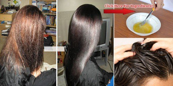 Just 1 Ingredient Recipe For Permanent Hair Straightening