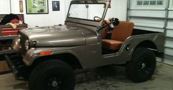 1963 Willys Jeep Cj5 All New Tub Fenders Paint Transmission