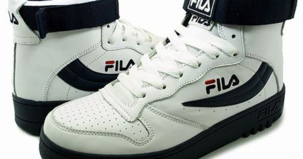 Fila High Tops With Straps 1989-1992
