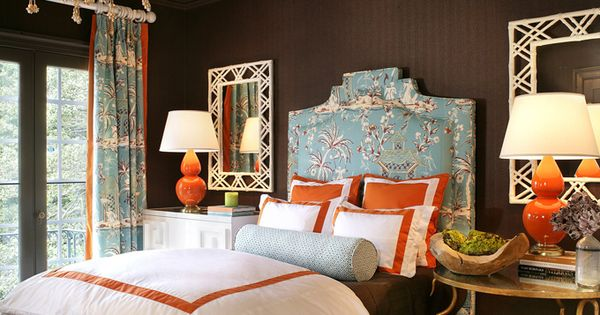 This posh bedroom designed by lauren guarcello of porter for Posh bedroom designs