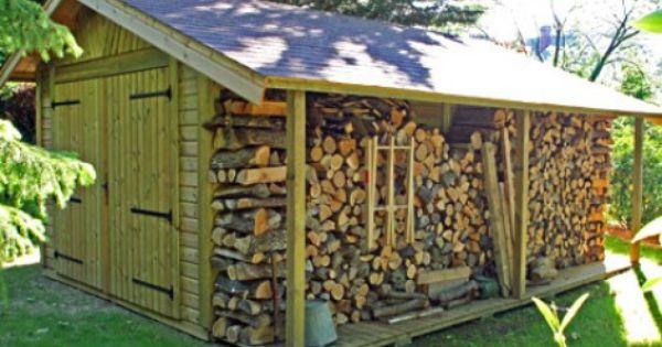 Garage Bois Bretagne 3 50mx5 70m Bucher Cerisier Abris De Jardin En Bois Outdoor Shop Buildings Wood Shed