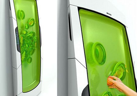 Gel fridge: put your stuff in it and the gel keeps it