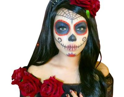 diy maquillage halloween f te des morts mexicaine id es conseils et tuto halloween. Black Bedroom Furniture Sets. Home Design Ideas