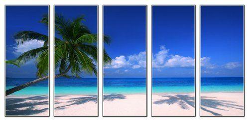 seascape canvas art prints beach wave canvas print Tropical beach canvas print