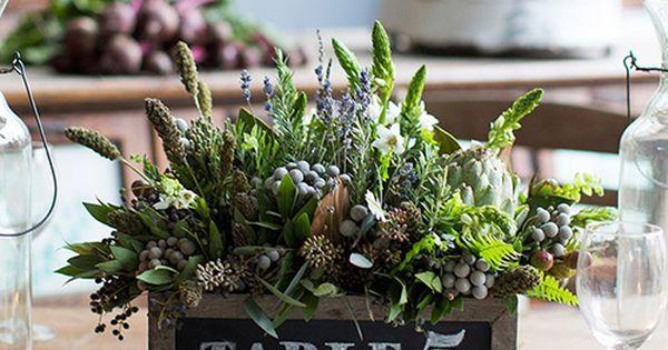 Boda creativo camino : ... Ideas for Your Wedding Reception Tables Macetas, Boda y Creativo