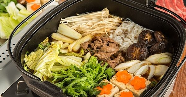 Sukiyaki recipe hot pot recipes and japanese food for Cuisine 9269