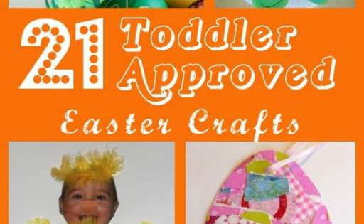 Easter--21 Toddler Approved Easter Crafts I get so many e-mails from Moms