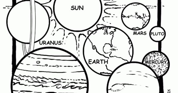 Solar System Color Page Solar System Coloring Book Pages Luxury ...   315x599