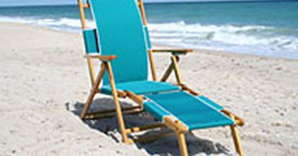 Beach Chair With Leg Rest Beach Lounge Chair Beach Lounge