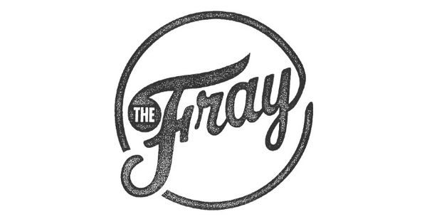 The Fray by Brandon Rike Identity Logo Design Branding Type Typography Band