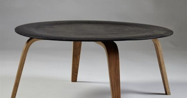 Charles And Ray Eames; #CTW Molded Plywood Coffee Table