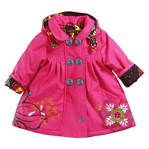 Catimini Girls Raincoat