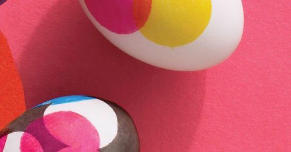 DIY easter crafts DIY Dot Design Easter Eggs DIY easter crafts