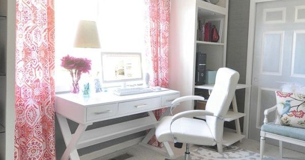 color scheme, curtains, desk, chair, and rug