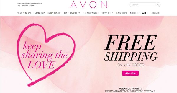 Avon Free Shipping On Any Order Last Chance Get Avon Free Shipping On Any Order When You Use