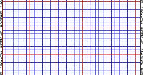 Shalas Graph Paper ~ Free printable graph paper for all sorts of beading...