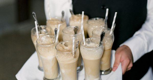 "IDEA!! Root Beer Floats, milkshakes, chocolate milk, juice boxes... Wedding theme ""kids"
