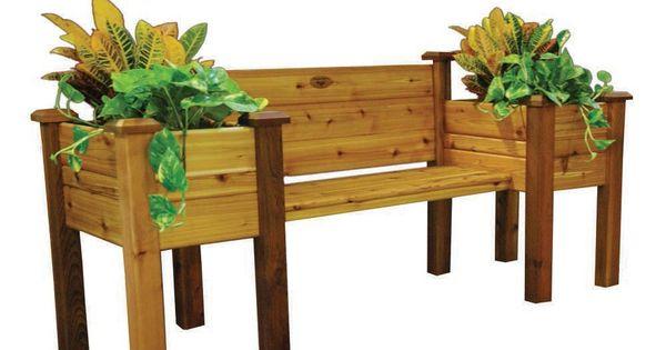 Diy Vertical Garden Systems Gronomics Planter Bench
