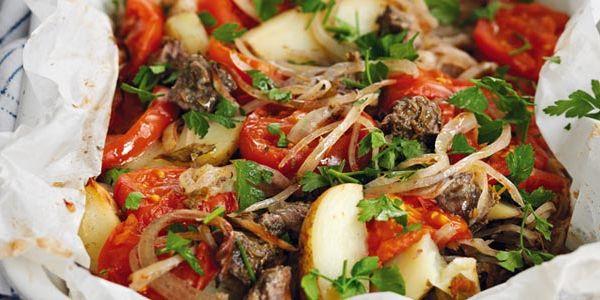 Lamb Kleftiko With Roasted Aubergines Recipe - Sainsbury's | Delicious ...