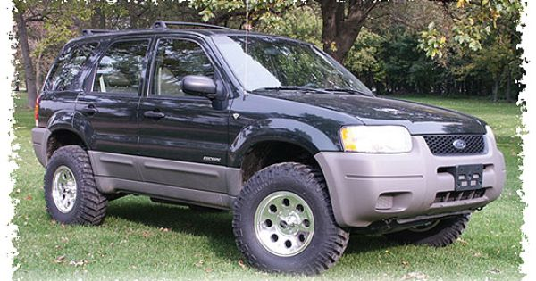 Ford Escape | Ford Escape | Pinterest | Ford, Lift kits ...