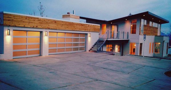 Modernize Your Home With A C H I Full View Glass Garage
