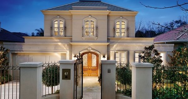 Classical French Provincial Style Home